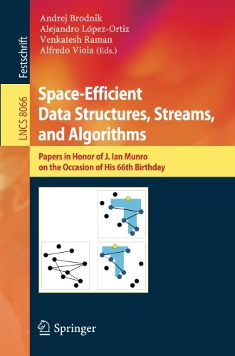 Space-Efficient Data Structures, Streams, and Algorithms: Papers in Honor of J. Ian Munro, on the Occasion of His 66th B