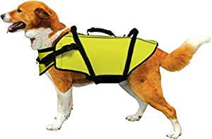 Fusion Pets Aqua Sport Recreational Flotation Dog Harness, 31 to 120-Pound