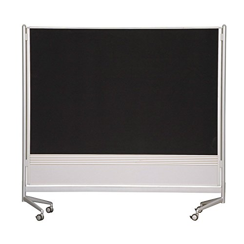 (Balt Mobile Double Sided Divider Dura-Rite HPL Markerboard Hook and Loop DOC Room Partition 6'H x 6'W electronic consumers)