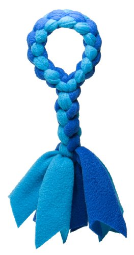 Squishy Face Studio Braided Fleece Tug Rope Dog Toy