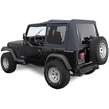 Soft Top Door Seal Clip for Jeep Wrangler YJ  1987-1995  12306.08 Omix-ADA