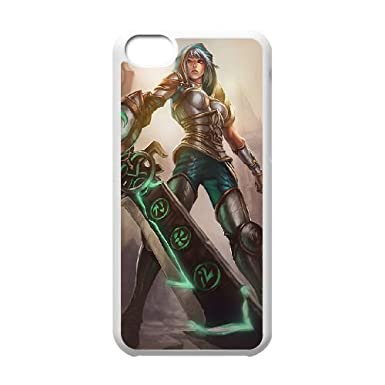 iPhone 5c Cell Phone Case White League of Legends Redeemed Riven