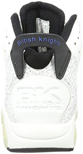 British Knights Mavik - Zapatillas Hombre Blanco