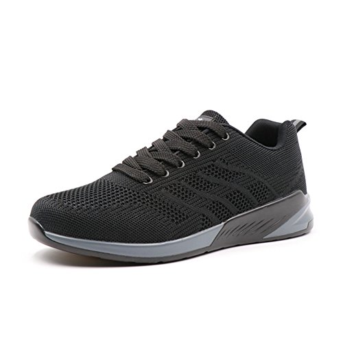 Man & Women Breathable Walking Shoe,Sooft Hiking Shoe,QZbeita Comfy Shoe Black