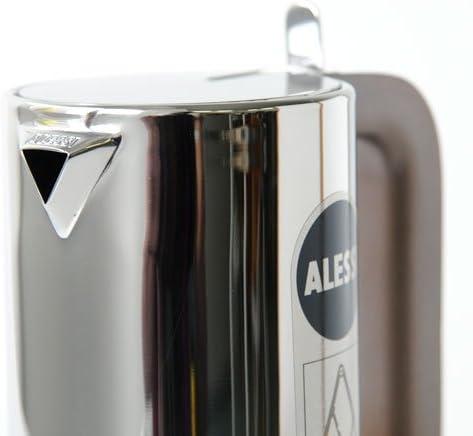 Alessi 9090/6 - Cafetera italiana de acero inoxidable brillo 18/10 ...