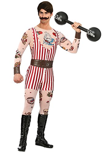 Bayi Co. Men's Vintage Strongman Costume X-Large