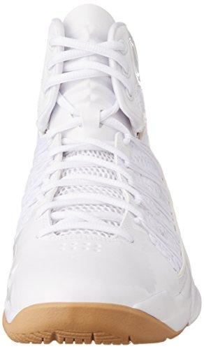 NIKE White Light HYPERDUNK gum White SHOE MEN'S LUX BASKETBALL Brown 878TqXr