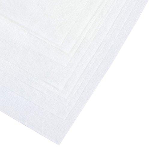 Papstar 81342 Passier- und Filtertücher, 100 x 100 cm, 10 Stück, weiß