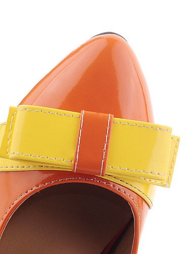 5 Plano Zapatos 5 orange orange Negro Oficina Cuero Trabajo eu42 Vestido us10 Puntiagudos Patentado uk8 YYZ us10 de 5 5 cn43 Beige Planos Casual ZQ us10 y cn43 orange 5 Tac¨®n Bailarina mujer uk8 eu42 ARwfqX