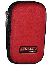 Classone 5.5 inç HD2001 2.5 HDD Taşıma Çantası, Kırmızı