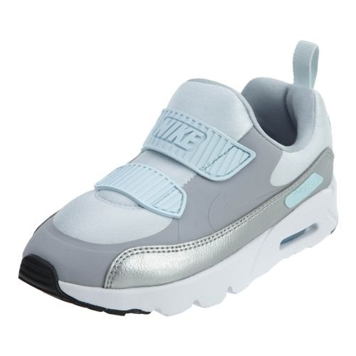 Nike Air Max Tiny 90 (PS) Running Shoes Pure Platinum/Wolf Grey 881926-001 (3 M US) ()