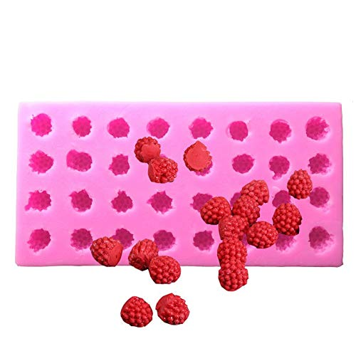 September Raspberry Mulberry Fruit Cake Mould Ice Cream Chocolate Mold Silicone Molds Baking Clay Mould