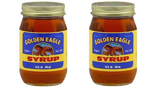 Golden Eagle Original Syrup: 2 pack of 15 Fl Oz Jars - Pecan Corn Syrup