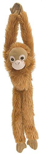 Wild Republic Orangutan Plush, Monkey Stuffed Animal, Plush Toy, Gifts for Kids, Hanging 20 Inches