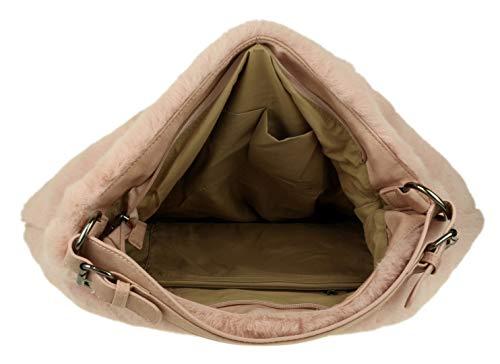 A Mano Donna Girly Pink Handbags Borsa qPwxgC