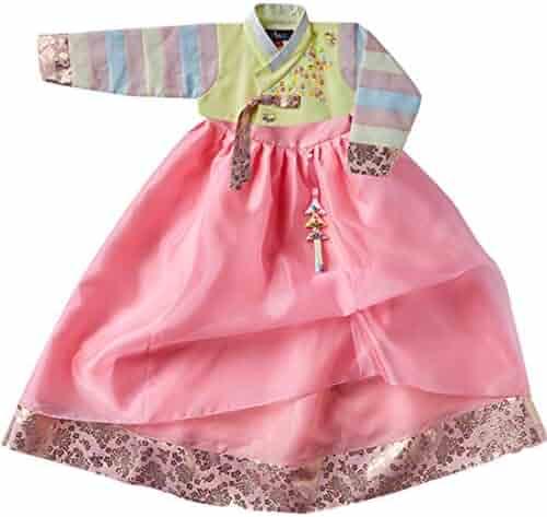 d663009cf Korean Beautiful Traditional Clothing Hanbok Dress Baby Girl Clothes  Birthday New Year Party Han-Bi