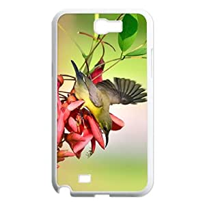Samsung Galaxy Note 2 N7100 Bird Phone Back Case Personalized Art Print Design Hard Shell Protection AQ074423