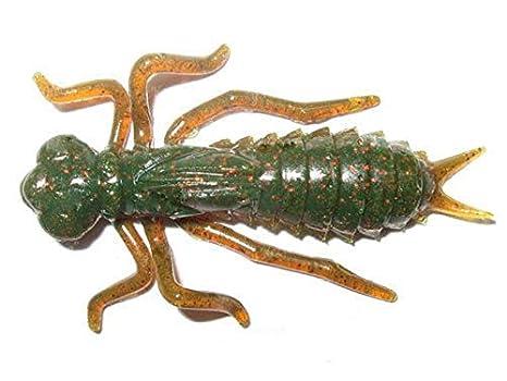Crazy Fish Kasari Leurre en Forme de Libellule 2,5 cm