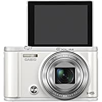 Casio Exilim Selfie Digital Camera EX-ZR3600WE (White) - International Version (No Warranty) Explained Review Image
