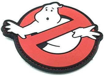 Parche Ghostbusters Cosplay PVC Airsoft Patch: Amazon.es: Hogar