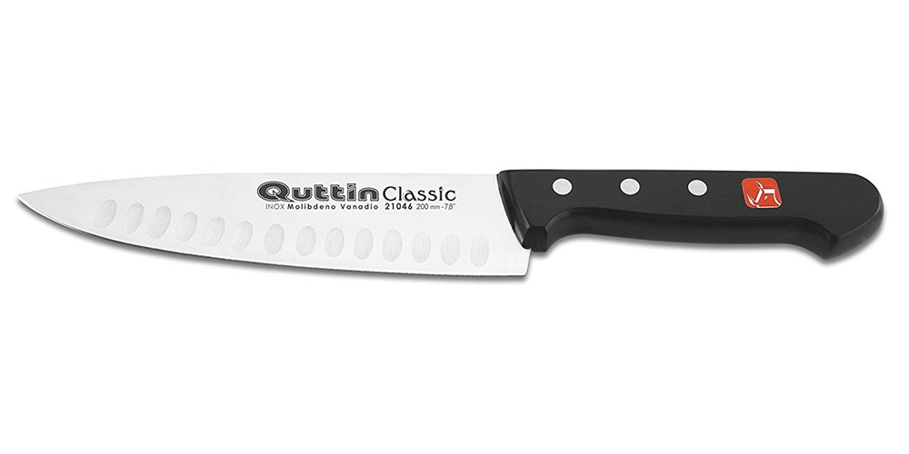 Compra Quttin Top Chef - Cuchillo Cocinero 20 Cm.Alveolado ...