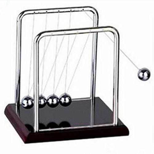 TOLOVI Newton Teaching Science Desk toys Cradle Steel Balance Ball Physic School Educational Supplies home decoration accessories