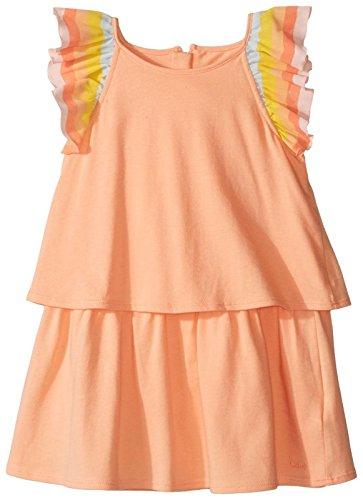 Chloe Baby Girls' Rainbow Ruffles Dress Infant, Sorbet, 18M by Chloe