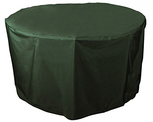 Bosmere C540 Weatherproof Round Outdoor Patio Dining Table Cover, 40 Diameter x 28 H, Green