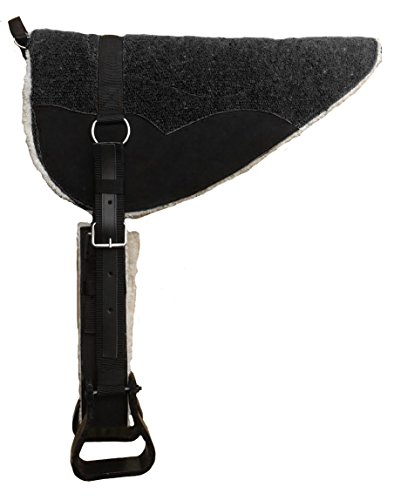 - Derby Originals Tahoe Tack Extra Comfort Four Layer Padded Western Horse Bareback Pad with Reinforced Stirrups and Girth - Multiple Colors