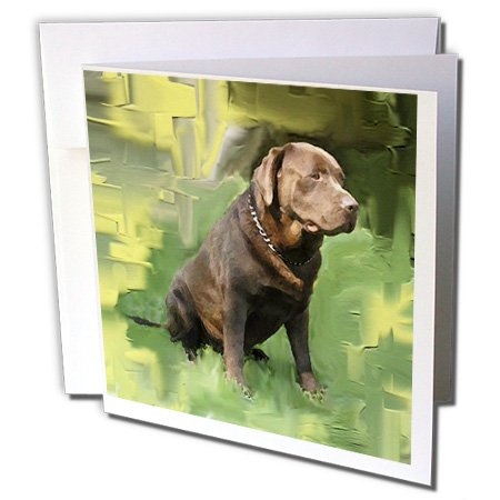 3dRose 8 x 8 x 0.25 Inches Chocolate Labrador Retriever for sale  Delivered anywhere in Canada