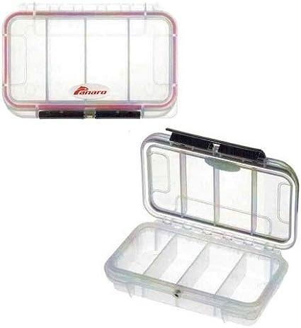 Zepre - Caja hermética Transparente antilluvia con divisores de plástico panero, Medidas 175 x 115 x 48 cm.: Amazon.es: Deportes y aire libre
