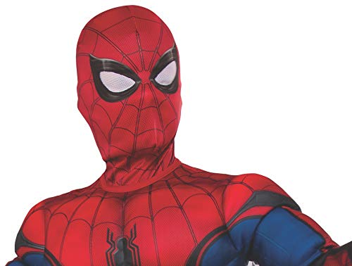 Rubie's Marvel Spider-Man Far from Home Child's Spider-Man Fabric Mask Red/Blue Child Spider Man Mask