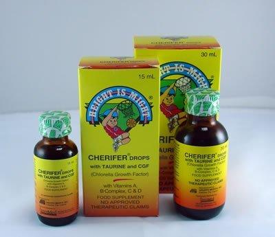 3 Cherifer Drops w/ Taurine and CGF (3 x 30ml)