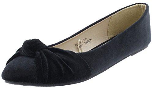 Capelli New York Ladies Flats Black Design 6I6dP3mcR0