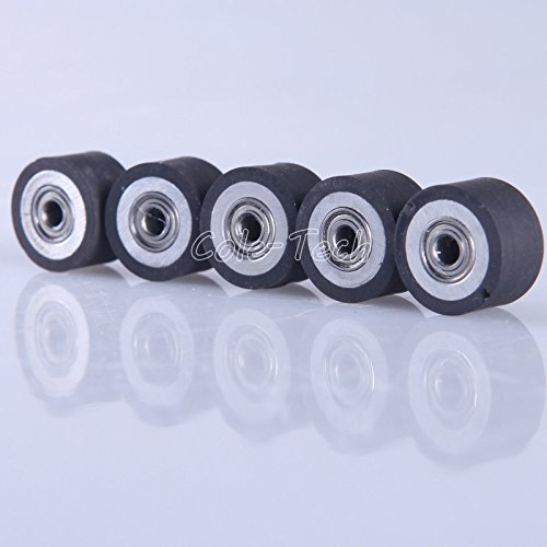 5pcs HQ Pinch Roller for Roland GCC LiYu Rabit Pcut Mimaki Graphtec Iolion Cutter Plotter 4x10x16