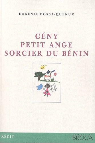 Amazon.fr - Geny petit ange sorcier du Benin - Dossa-Quenum ...
