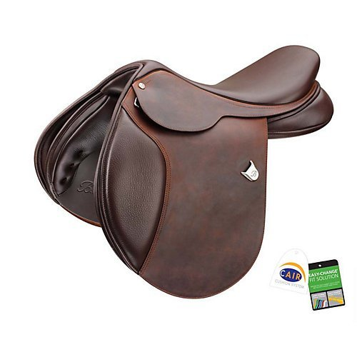 Bates Caprilli Close Contact Saddle 18 Reg HAV