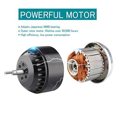 Extractor Fan 150mm Bathroom Inline Duct Fan Mixed Flow HG ...