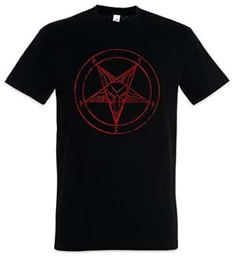 Urban Backwoods Baphomet Pentagram Sign T-Shirt – Diablo Pentagrama Aleister Crowley Pentagramm Satanic Circle 666 Tamaños S - 5XL
