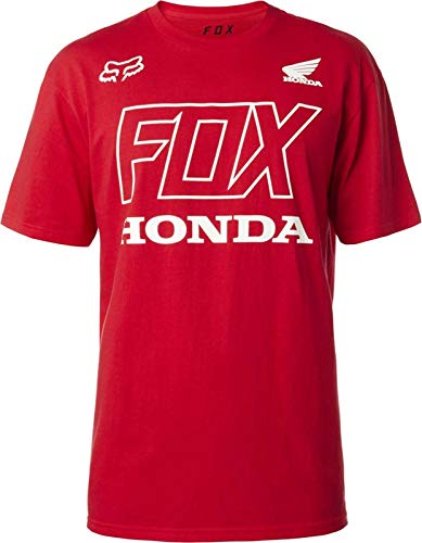 Fox Racing Honda T-Shirt-Dark Red-S