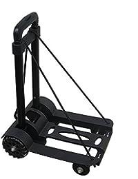 Heavy Duty Folding Luggage Cart Dolly Hand Flatbed Truck Trolley Max 170 lbs Capacity