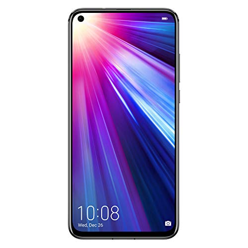 Honor View 20 Dual-SIM (128GB ROM/6GB RAM, GSM Only, No CDMA) Factory Unlocked 4G/LTE Smartphone - International Version (Midnight Black)