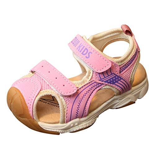 Respctful✿ Toddler Baby Boys Or Girls Breathable Mesh Running Sneakers Summer Sandals Pink