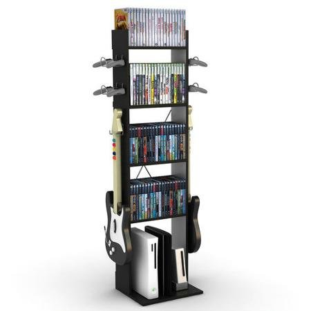 Atlantic Game Central Tall Storage Rack (Atlantic Game Central Tall)