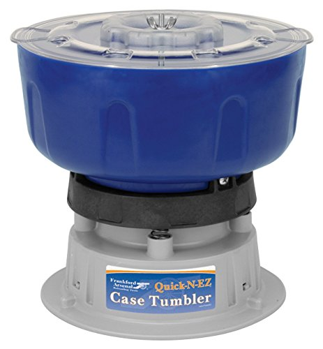 Frankford Arsenal Quick-N-EZ 110V Vibratory Case Tumbler for Cleaning and Polishing for Reloading (Limited Edition)