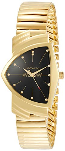 Hamilton H24301131 Ventura Quartz Women's Watch Gold 17mm Stainless Steel