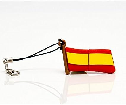 MEMORIA USB PENDRIVE BANDERA ESPAñA 8GB: Amazon.es: Oficina y papelería