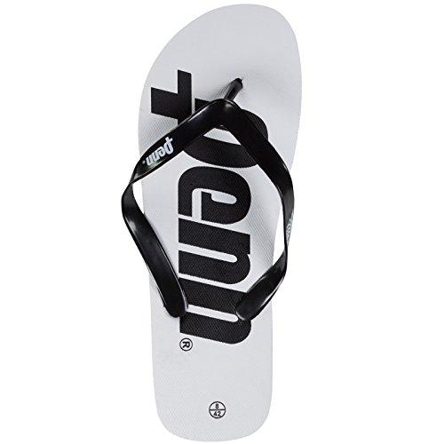 Penn Logo Flip Flops Hvit / Svart