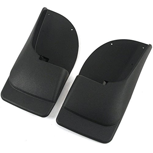 Super Duty Splash Guards - T-Foot 2 Piece Rear Mud Flaps For Ford Super Duty F250 F350 1999-2010 Mud Guards Splash