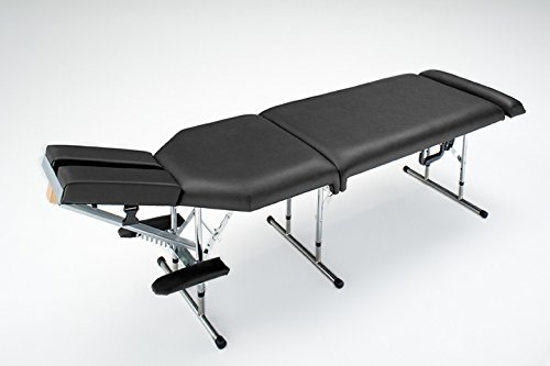 - Deluxe Portable Chiropractic Table - Black